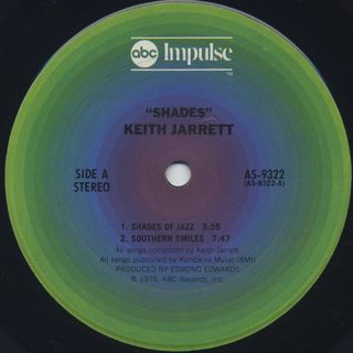 Keith Jarrett / Shades label