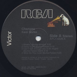 Keni Burke / Changes label