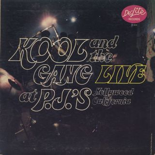 Kool and The Gang / Live at P.J.'s