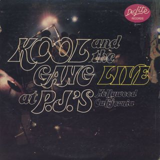Kool and The Gang / Live at P.J.'s back
