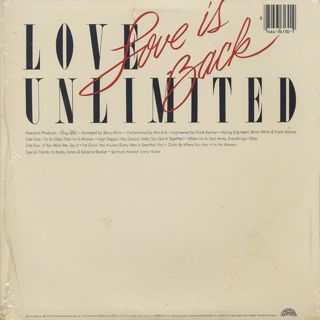 Love Unlimited / Love Is Back back