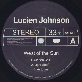 Lucien Johnson / West Of The Sun label