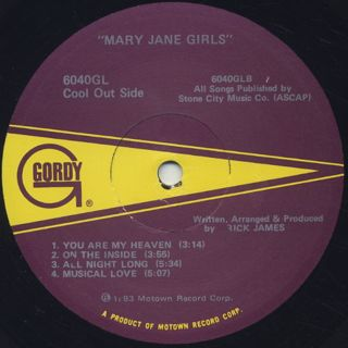 Mary Jane Girls / S.T. label