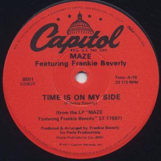 Maze / Time Is On My Side c/w Raul De Souza / Sweet Lucy back