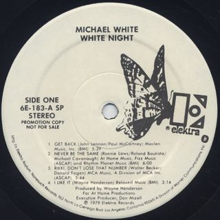 Michael White / White Night label