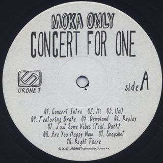 Moka Only / Concert For One label