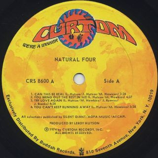 Natural Four / S.T. label