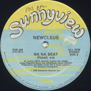 Newcleus / Na Na Beat back