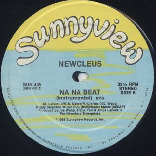 Newcleus / Na Na Beat label