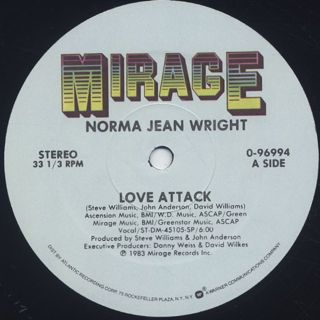 Norma Jean Wright / Love Attack back
