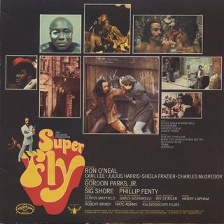 O.S.T.(Curtis Mayfield) / Super Fly back