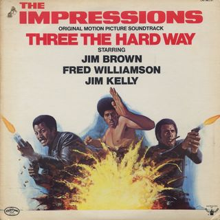O.S.T.(The Impressions) / Three The Hard Way front