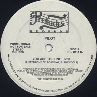 Pilot / You Are The One