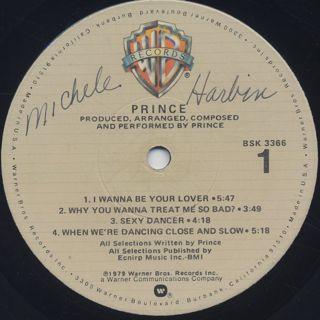 Prince / S.T. label
