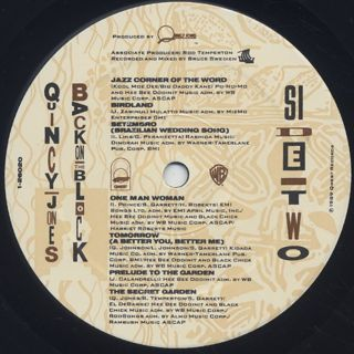 Quincy Jones / Back On The Block label