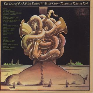 Rahsaan Roland Kirk / The Case Of The 3 Sided Dream In Audio Color back