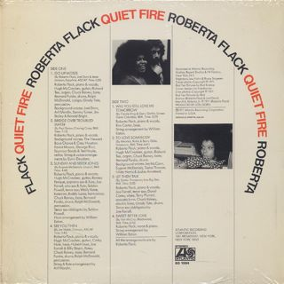 Roberta Flack / Quiet Fire back