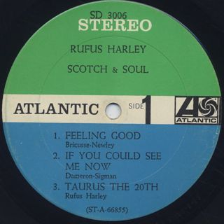 Rufus Harley / Scotch & Soul label