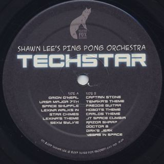 Shawn Lee's Ping Pong Orchestra / Techstar label