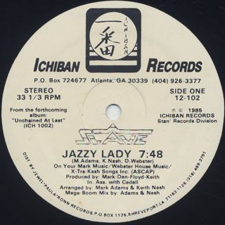 Slave / Jazzy Lady front