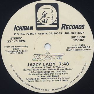 Slave / Jazzy Lady back