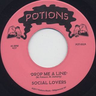 Social Lovers / Drop Me A Line front