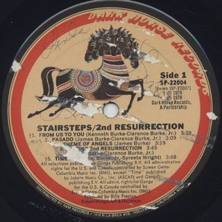 Stairsteps / 2nd Resurrection label