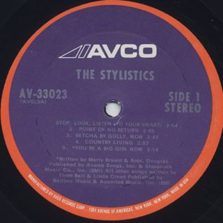 Stylistics / S.T. label