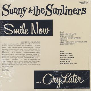 Sunny & The Sunliners / Smile Now... Cry Later back