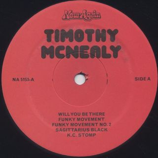 Timothy McNealy / Funky Movement label