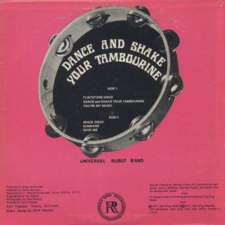 Universal Robot Band / Dance And Shake Your Tambourine back