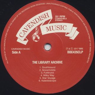 V.A. / The Library Archive(Funk, Jazz, Beats And Soundtracks From The Vaults Of Cavendish Music) label