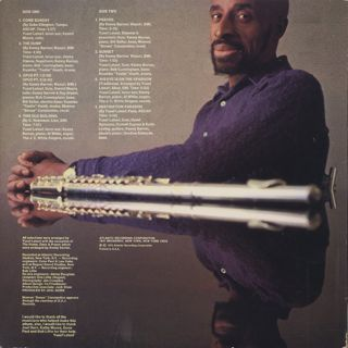 Yusef Lateef / Hush 'N' Thunder back