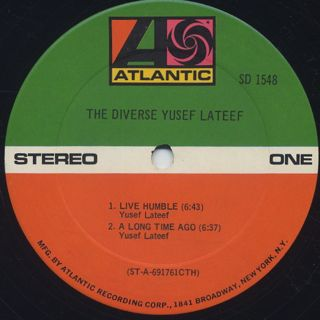 Yusef Lateef / The Diverse label