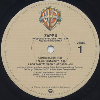 Zapp / II label