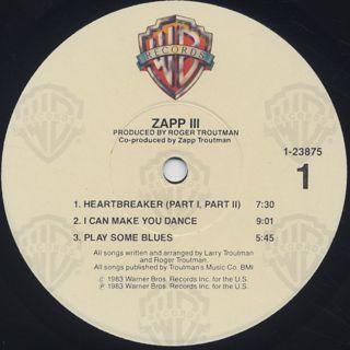 Zapp Iii Lp Warner Bros 中古レコード通販 大阪 Root Down