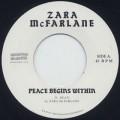 Zara McFarlane / Peace Begins Witin