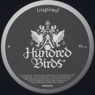 A Hundred Bird / Inspired c/w Do It Right label