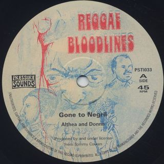 Althea And Donna / Gone To Negril (10
