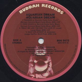 Aquarian Dream / Norman Conners Presents Aquarian Dream label