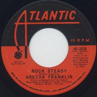 Aretha Franklin / Rock Steady(45)