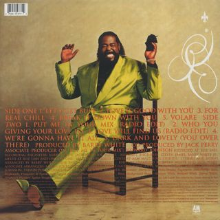 Barry White / Put Me In Your Mix back