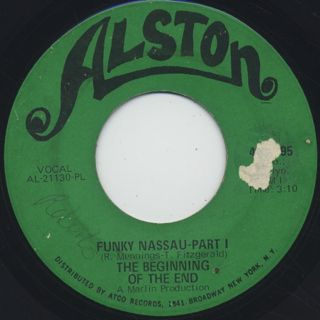 Beginning Of The End / Funky Nassau c/w Part II