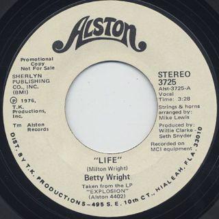 Betty Wright / Life (7