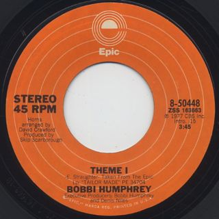 Bobbi Humphrey / Dancin' To Keep From Cryin' back