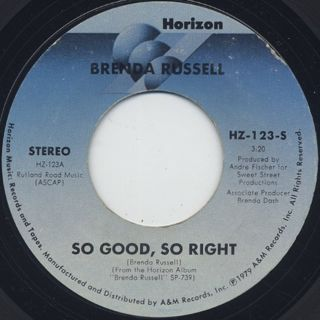 Brenda Russell / So Good, So Right