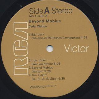 Cedar Walton / Beyond Mobius label