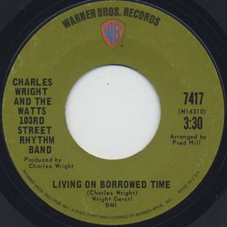 Charles Wright & The Watts 103rd Street Rhythm Band / Express Yourself back