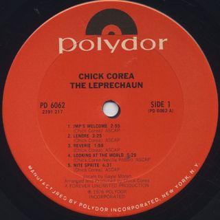 Chick Corea / The Leprechaun label