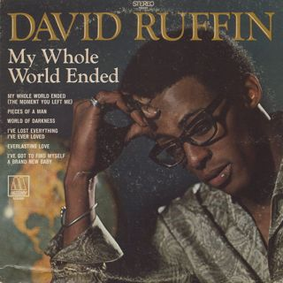 David Ruffin / My Whole World Ended front